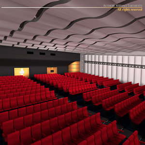 3d movie theatre