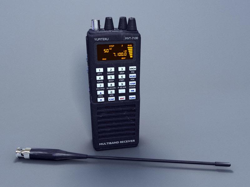 3d walkie-talkie yupiter cb radio