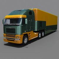 Freightliner Argosy  with trailer