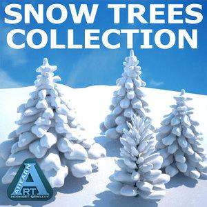 max snow trees
