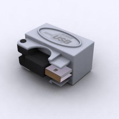 3dsmax portable usb hub