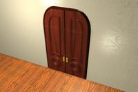 3d double doors