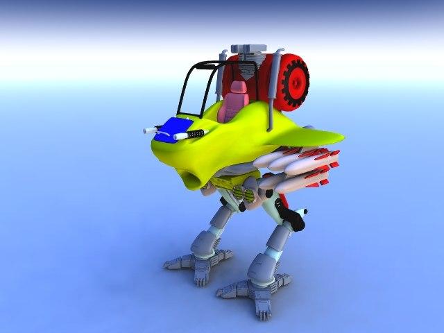 maya robot wars