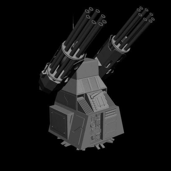 max dual heavy chain gun turret