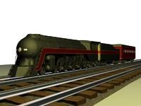 maya class j4-8-4 train engine car