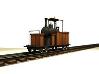 small train 3d model