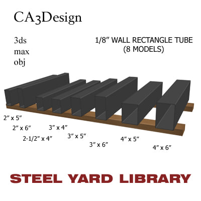 3d 3ds 1 wall tube 8