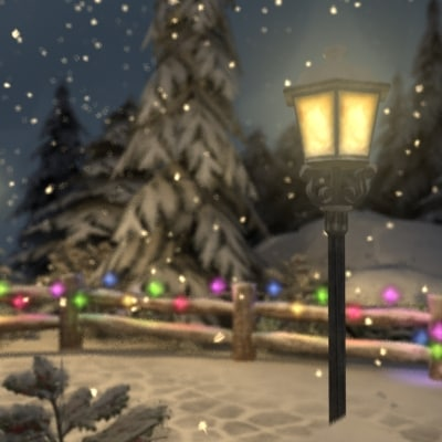 winter park 3d model