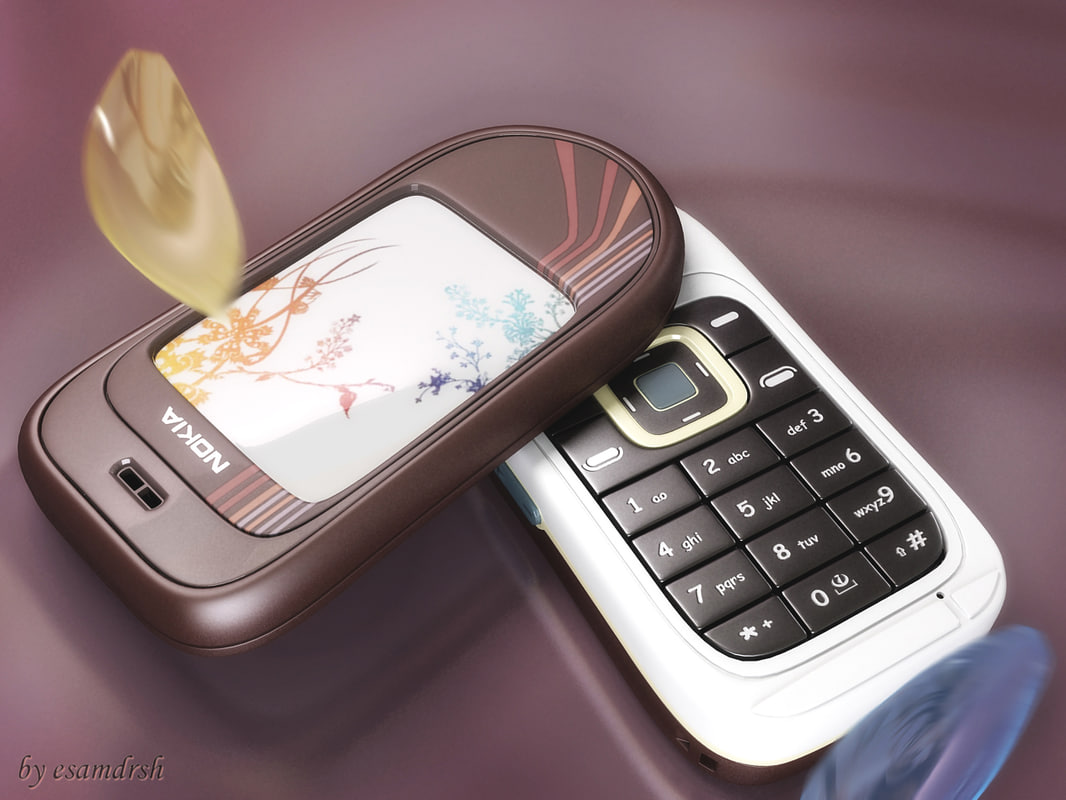 3d model nokia mobile