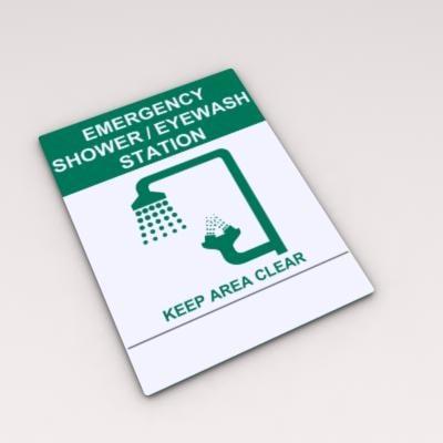 emergency eye wash station max