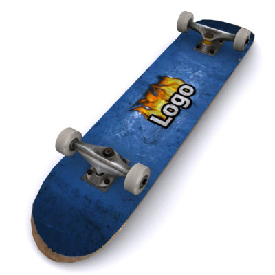 3d 3ds used skateboard boards