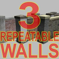 repeatable walls 3d max