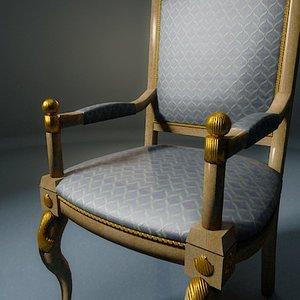 ampir chair 3d model