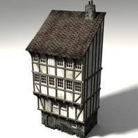 lightwave medieval townbuilding