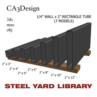 3ds 1 wall tube steel