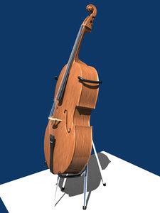 cello stand obj