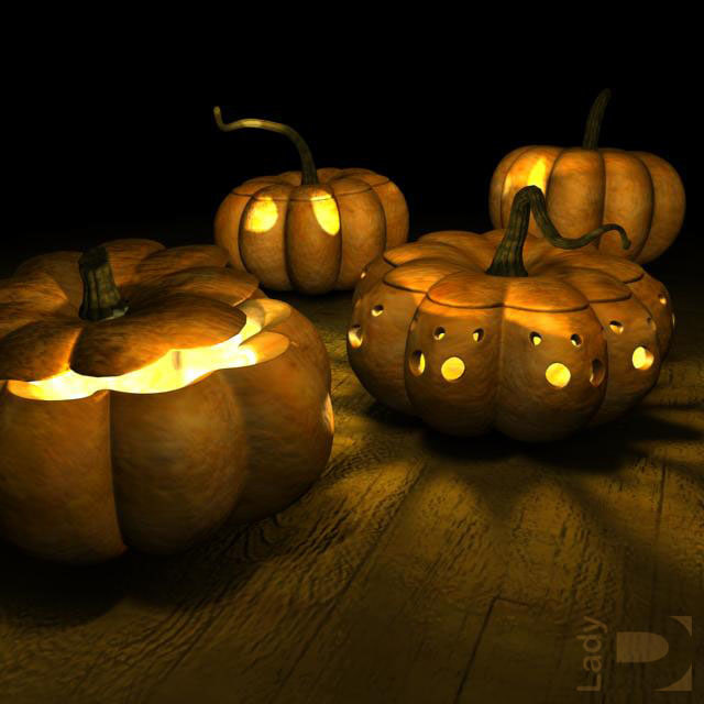 pumpkins dark 3d 3ds
