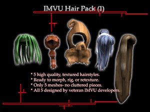 3ds max hair imvu