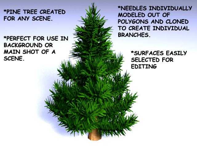 lwo pine tree