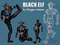 3dsmax elf animations