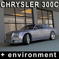 chrysler environment 3d model