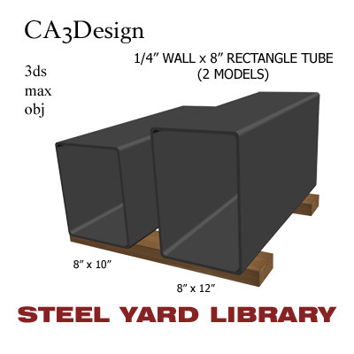 3d 1 wall tube steel
