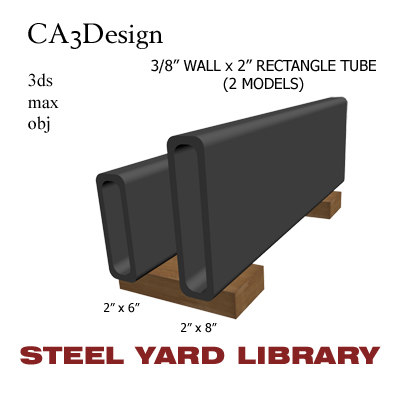 3d 3 wall tube steel