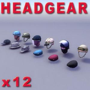 military heads 3d model
