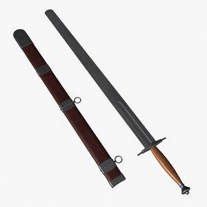 3d calendar sword