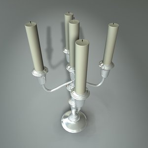 3ds max candle stick