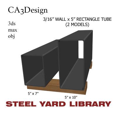 3 wall tube steel max