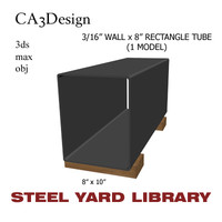 maya 3 wall tube steel