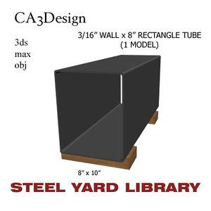 maya 3 wall tube steel
