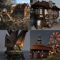 Collection_Fantasy_buildings