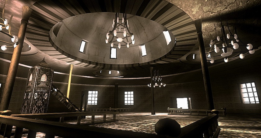 3ds max realistic mosque