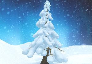 maya snow tree snowtrees