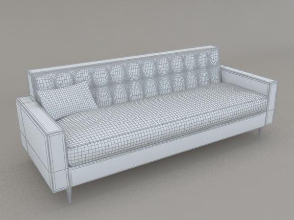 bantam sofa design 3ds free