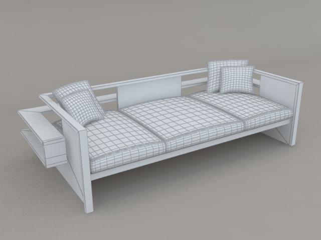 3d sling sofa