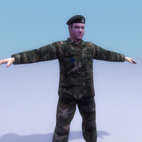 police games military 3d model