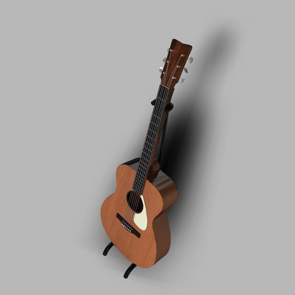 3ds accoustic guitar