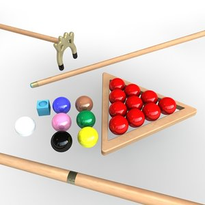 snooker set 3d 3ds