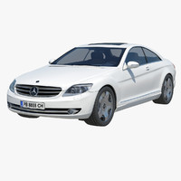 2007 mercedes benz cl 3ds