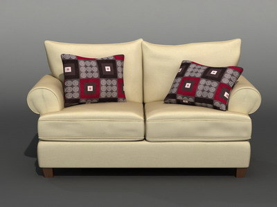 couch 3d max