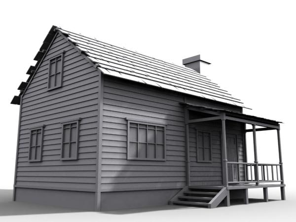 3d farm house model for Farm house model