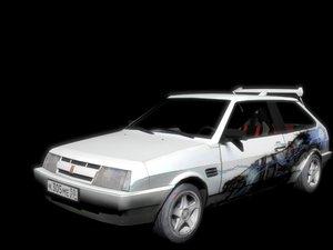 russian engine 3d model
