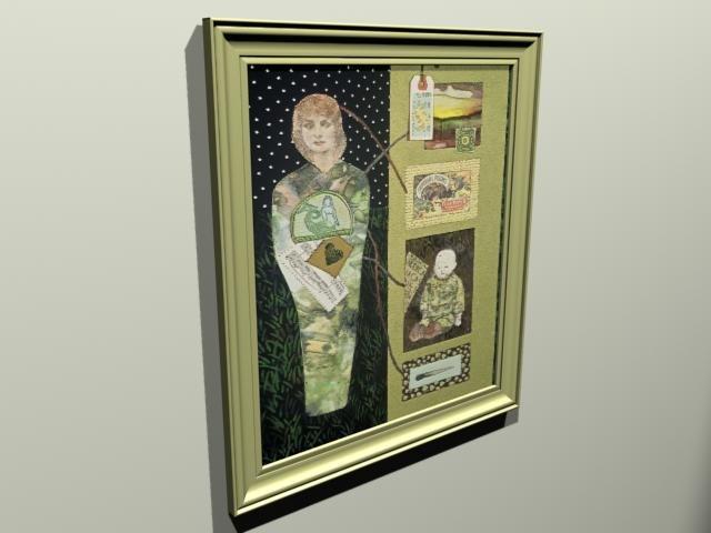 origional framed artwork 3ds