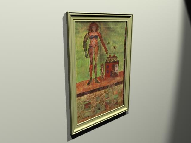 max framed artwork