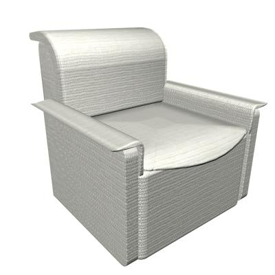3d sofa office model