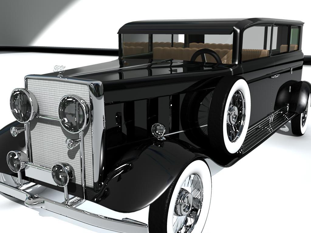 old car 3d 3ds
