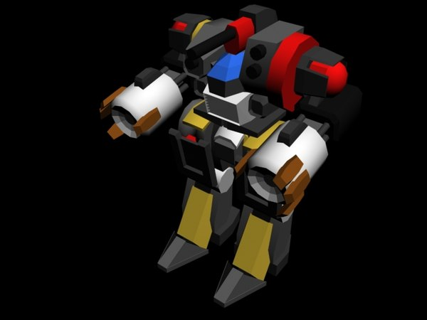 3d mech mechwarrior robot model